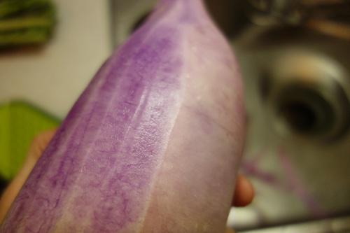 紫大根 甘酢漬け 漬物05