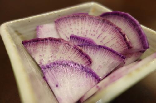 紫大根 甘酢漬け 漬物21