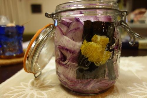 紫大根 甘酢漬け 漬物15
