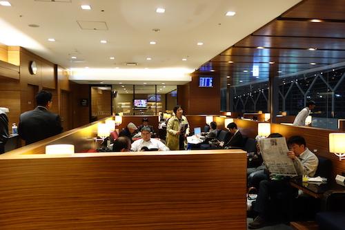 羽田空港 第2旅客ターミナルラウンジ(北)02